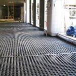 An image showing waterproof work fitted to The Dickson Poon China Centre, St Hugh's College, University of Oxford