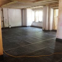 An image showing the interior of a room that will be undergoing waterproofing