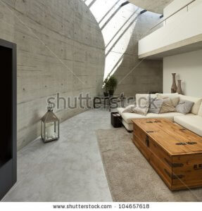 an image of a modern interior living room