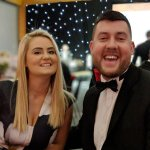 an image of a couple having a good time at the PCA Awards 2018