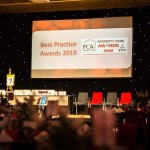 an image of the PCA awards presentation